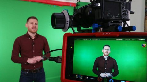 Filming Training Courses in the Big Frog Studio