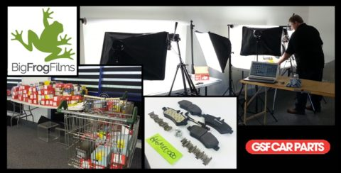 Product Photography at GSF Car Parts.