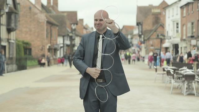David Fox magician in Stratford