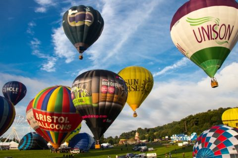 Bristol Balloon Festival – August 2017