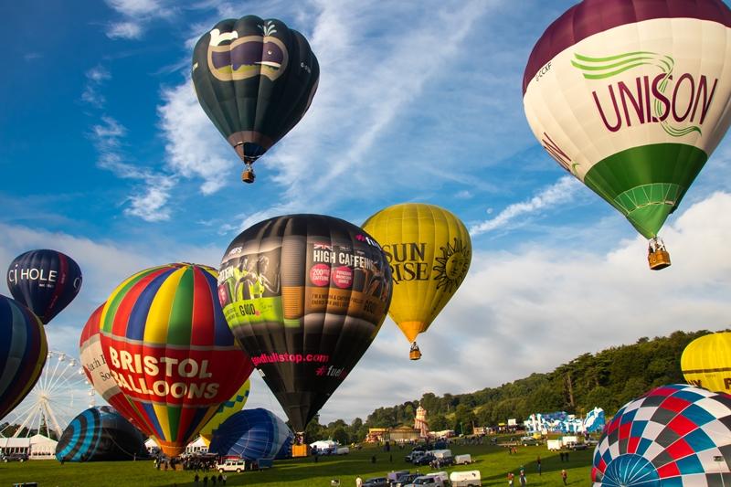 Bristol Balloon Festival 2017