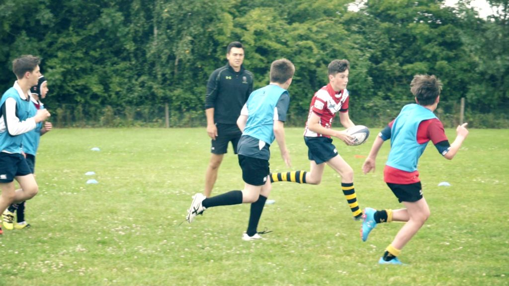 kingsway english plus rugby teenagers playing rugby