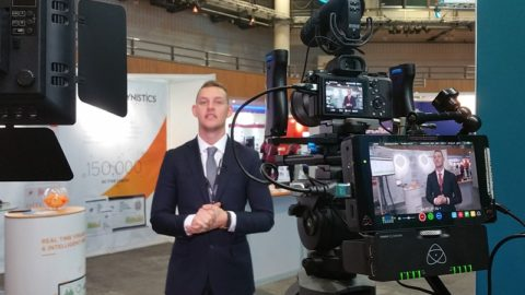 Filming at the ICC Birmingham